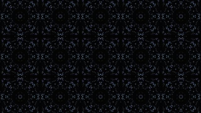 vídeos de stock, filmes e b-roll de fundo kaleidoscopic colorido do teste padrão - manipulação digital