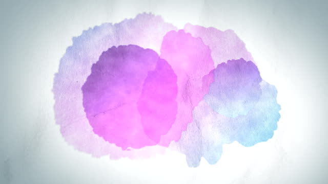 Pintura de colores gotas, alpha matte INCLUIDO - vídeo