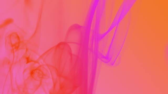 colourful smoke background - viola colore video stock e b–roll