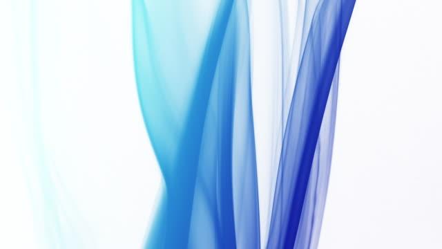 vídeos de stock e filmes b-roll de colourful smoke on white background - exhaust white background