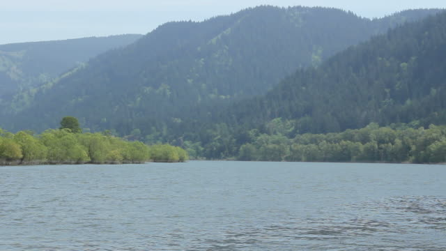 Columbia River Gorge Showing the Oregon Side video