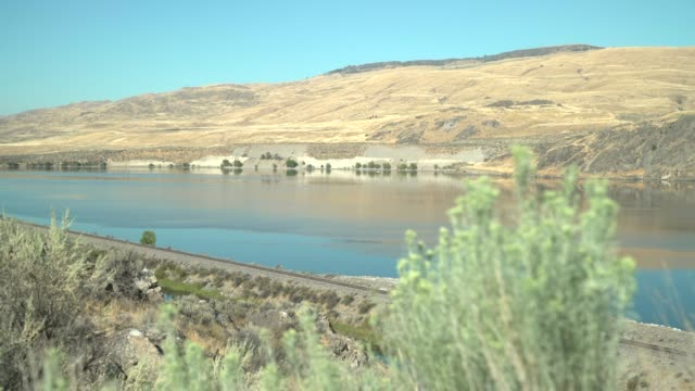Columbia River, Washington State 4K. UHD video