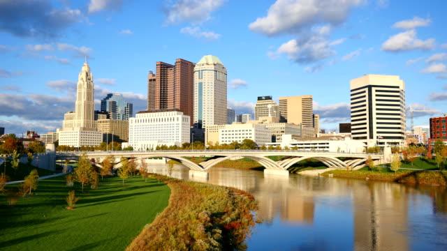 Columbus, Ohio skyline video