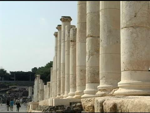 Columns and Pillars along Roman Road video