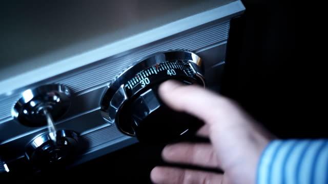 Combination Lock Safe video