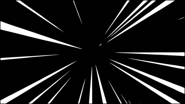 Comic spin line color white light yellow background.Motion spin line.Line effect animation video