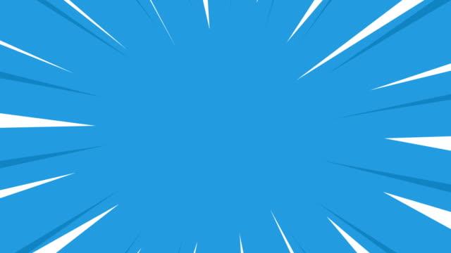 コミックスタイルの背景。レトロマンガ漫画の背景 - 斑点点の映像素材/bロール