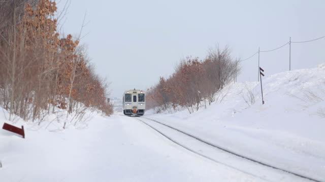 今後の鉄道 - 冬点の映像素材/bロール