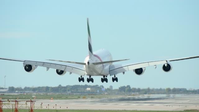 Commercial Jet Plane Landing video