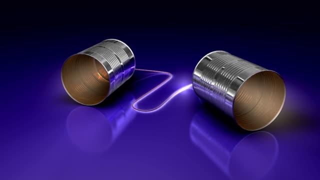 Communicating Tin-Can-Teles
