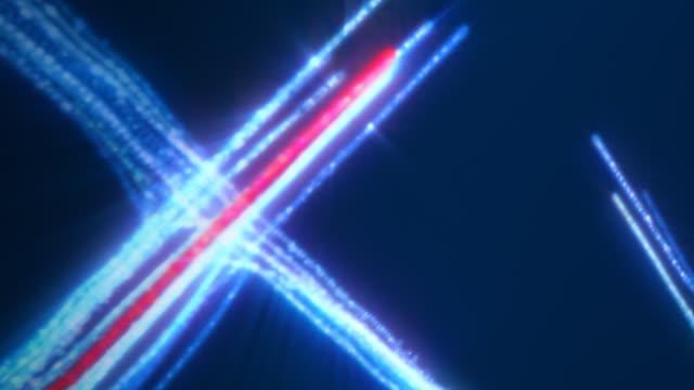 Communication Technology Data, Blue and Red -HD, NTSC, PAL video