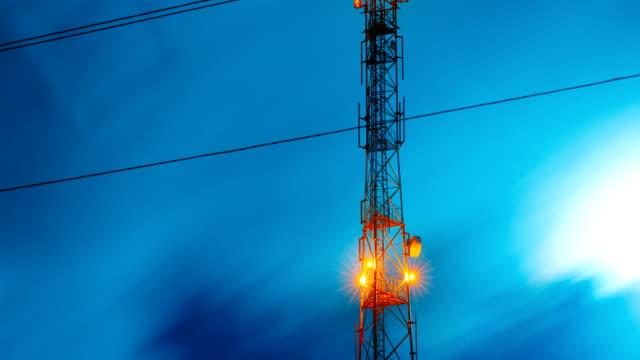 communications tower antenna video