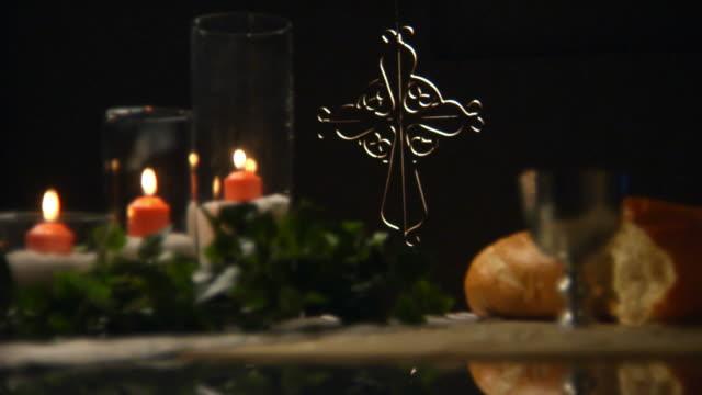 聖餐用聖パンで HD ビデオ