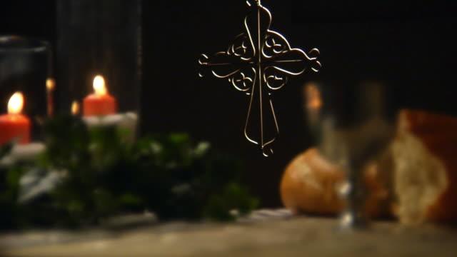 聖餐スタティッククロス CU Normal HD ビデオ