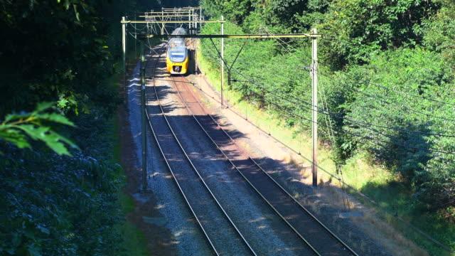 Commuter train of the Dutch Railways video