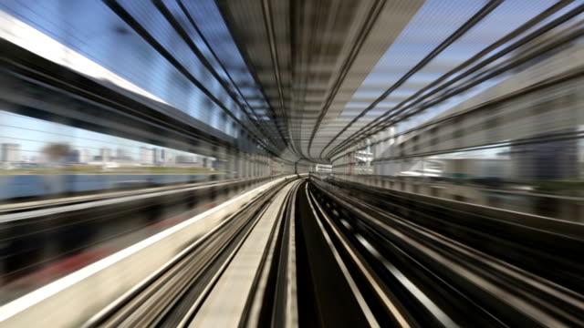 Commuter Train Speeding video