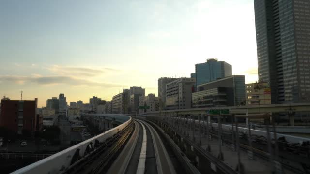 4K VDO : Commuter Train Speeding video