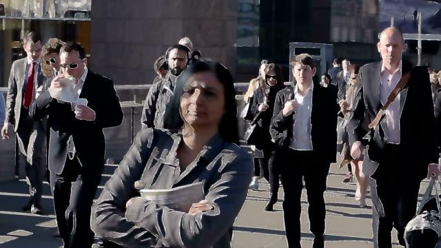 Commuters stylized video