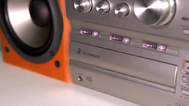 HD - Compact disc player video