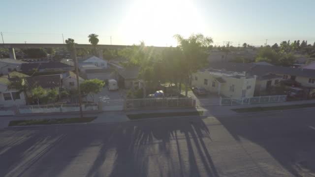 Compton Los Angeles Aerial video
