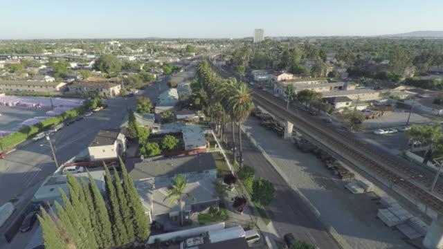 콤프 턴 로스 앤젤레스 항공 - 남쪽 스톡 비디오 및 b-롤 화면