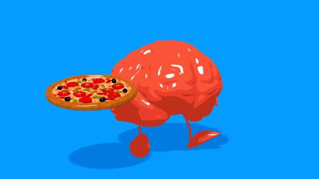 vídeos de stock e filmes b-roll de computer animation - fun brain - filosofia