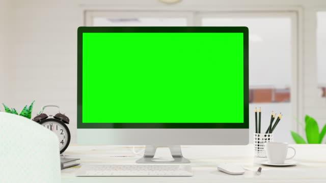 bilgisayar arka planı. - model stok videoları ve detay görüntü çekimi