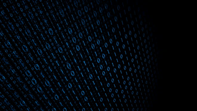 Computer binary code black background Computer binary data, technology motion background antivirus software stock videos & royalty-free footage
