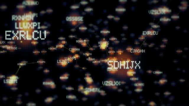 computer binary coding technology backgrounds - spyware filmów i materiałów b-roll