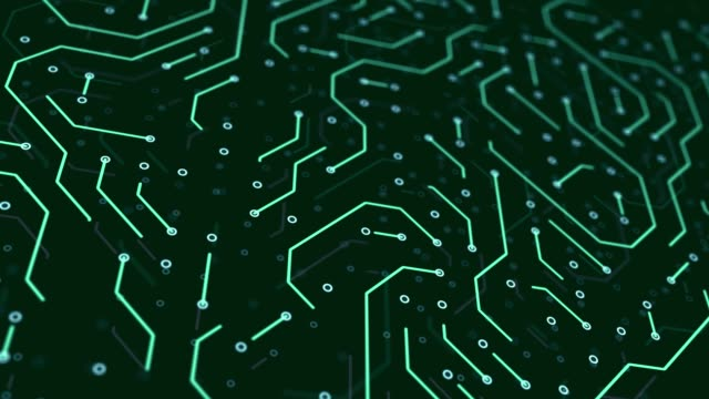 Computer Chip, Network Security, Cyber Security, Digital Protection Background