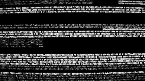 vídeos y material grabado en eventos de stock de retro computer code glitch - codificar