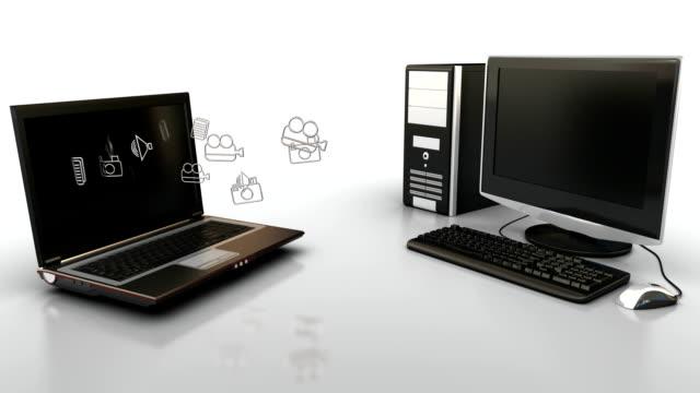 Computer communication video