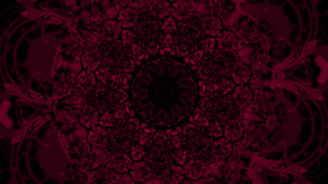 computer generated background with flowers lace pattern. kaleidoscopic effect. - wedding fashion stock videos and b-roll footage