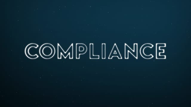 Computer generated, Compliance technology animation Computer generated, Compliance technology animation. obedience stock videos & royalty-free footage