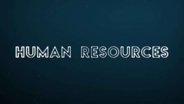 Computer generated, Human Resources technology animation