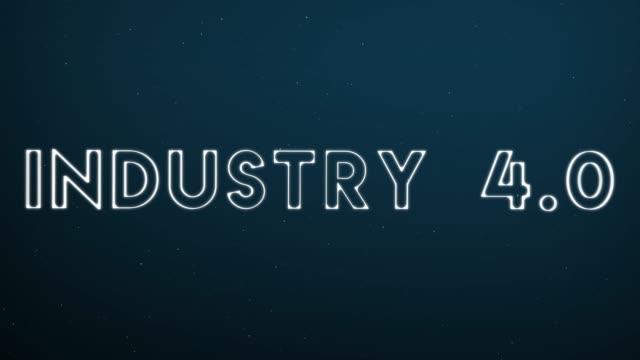 Computer generated, Industry 4.0 technology animation Computer generated, Industry 4.0 technology animation. computer aided manufacturing stock videos & royalty-free footage