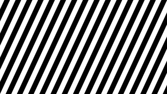 Computer generated white to black through slanted stripes. 3d rendering of abstract background