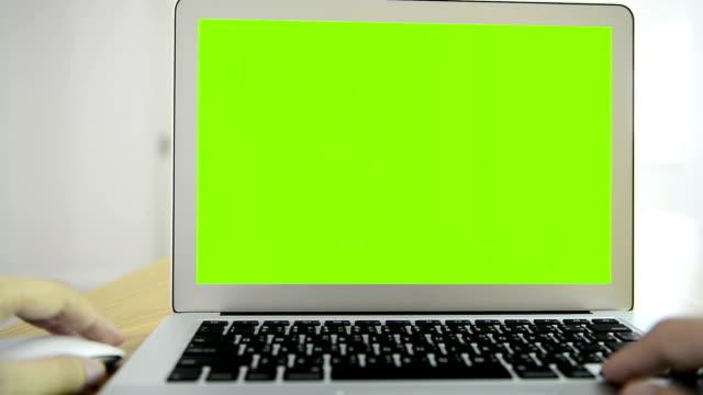 HD computer green screen video