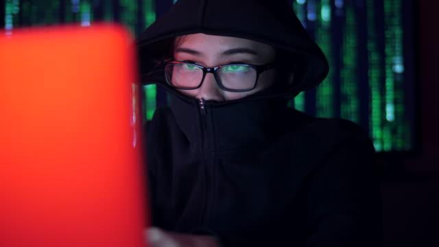 Computer hacker Concept