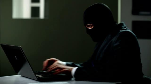 Computer hacker. video