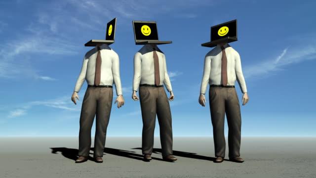 Computer Heads video