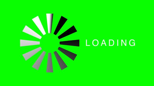 Computer Loading Icon  Hi-Def video