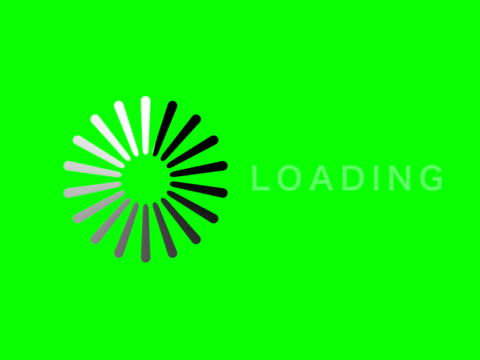 Computer loading icon video