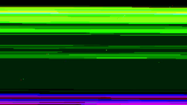 Computer Monitor Glitch Effect video