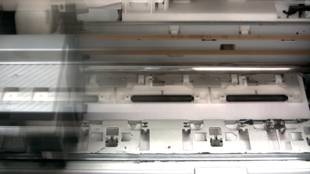 Computer Printer - Time Lapse video