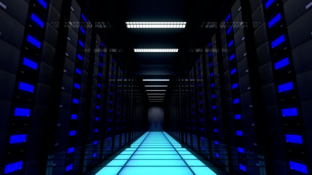 Computer servers in a Data Center. Loopable. Computer servers in a Data Center. Loopable. supercomputer stock videos & royalty-free footage