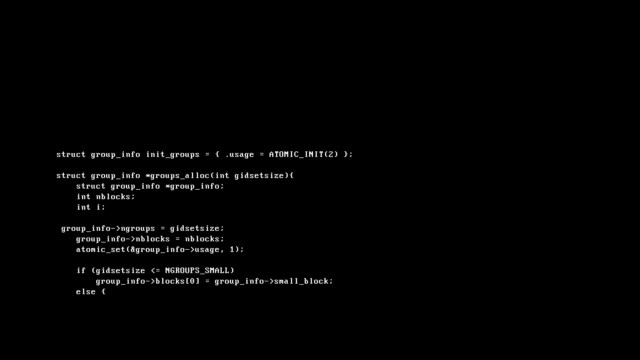 computer virus executing, white text against a black background - crittografia video stock e b–roll