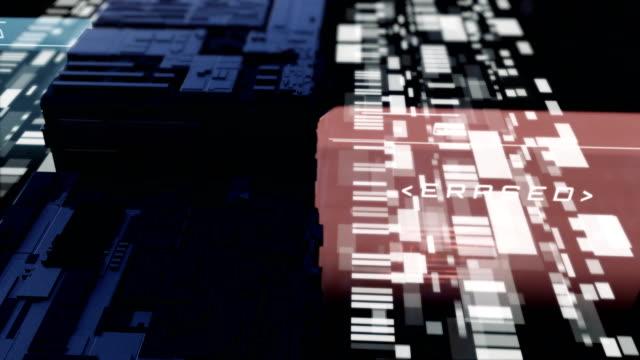 vídeos de stock e filmes b-roll de computer virus - vírus informático