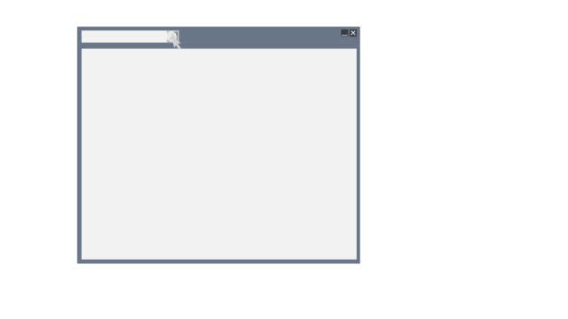 コンピュータウィンドウ。アニメーションのコピー、削除、ファイルの検索。漫画 - ファイル点の映像素材/bロール