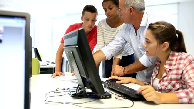 Computing class video